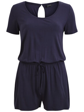 SIMPLE, SHORT SLEEVED PLAYSUIT