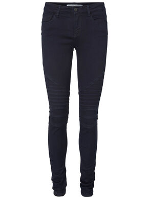 LUCY NW BIKER SKINNY FIT-JEANS