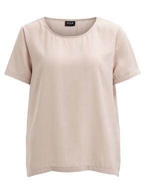 SIMPLE SHORT SLEEVED TOP