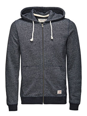 RECYCLED ZIPPED HOODIE