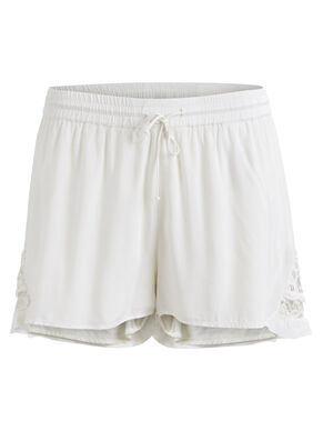 LACE DETAIL - SHORTS