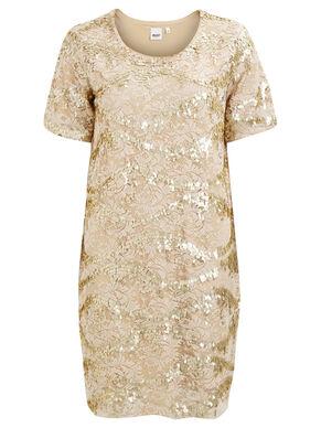OBJHURY - SEQUIN DRESS