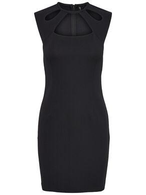 CAPSLEEVE SHORT DRESS