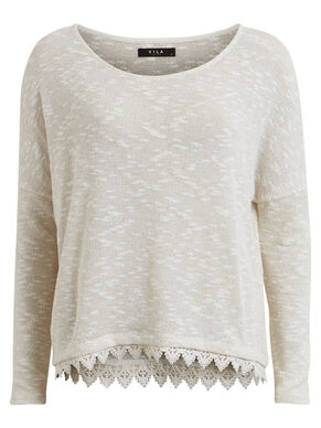 FINE LONG SLEEVED TOP