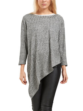 ASYMMETRICAL KNITTED TOP