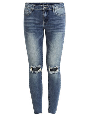 VICRUSH - RIPPED SKINNY FIT JEANS