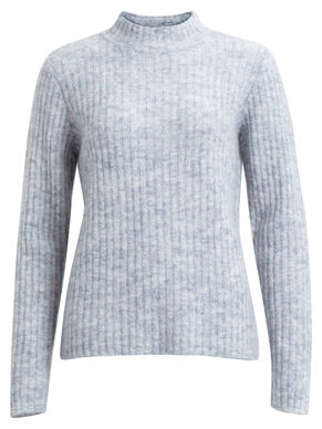 RIB KNITTED TOP