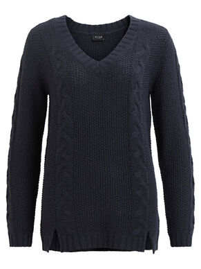 CABLE KNIT - BLOUSE