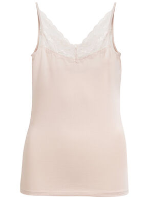 VIOFFICIEL - LACED STRAP TOP