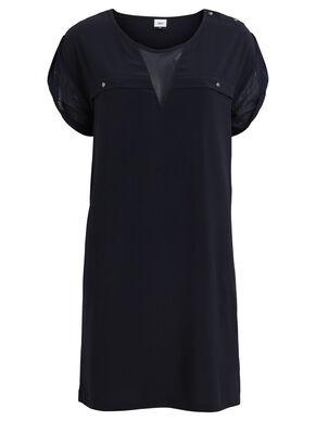 MESH DETAIL - DRESS