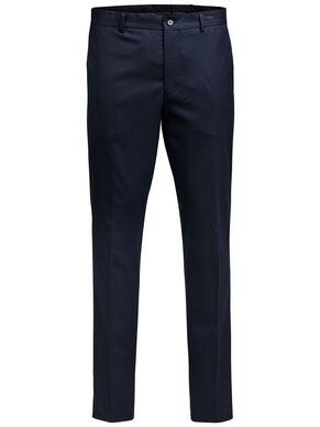 CLASSIC SLIM FIT SUIT PANTS