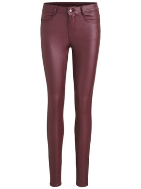 COATED SKINNY FIT JEANS