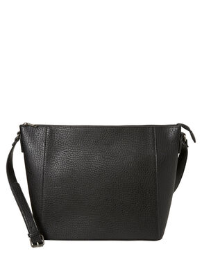 IMITATED LEATHER CROSSBODY BAG