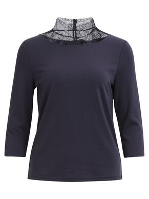 VITINNY - 3/4 SLEEVED TOP