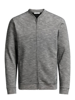 ZIPPED BASEBALL SWEAT JACKET