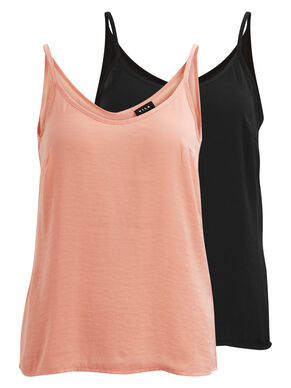 2-PACK STRAP TOP