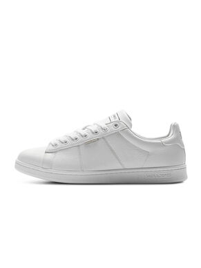 LEATHER LOOK TRAINERS