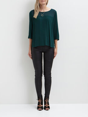 SIMPLE 3/4 SLEEVED TOP