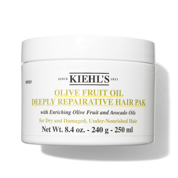 Olive Fruit Oil Deeply Repairative Hair Pak 200ml, , large