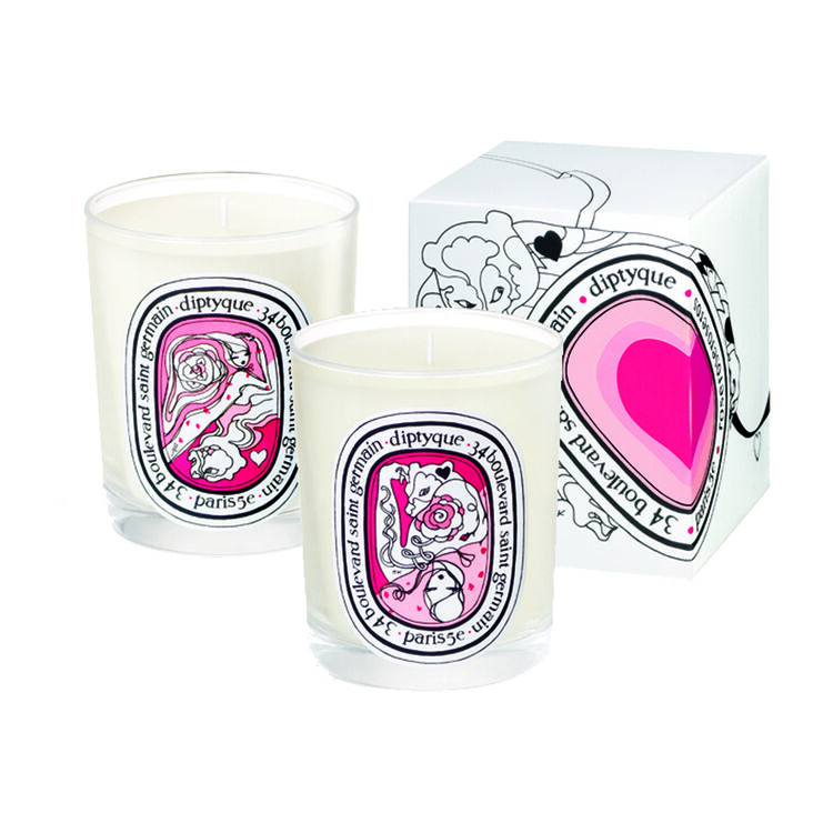 Rose Eros Candle Duo, , large