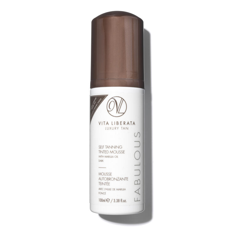 Self Tanning Tinted Mousse - Dark, , large
