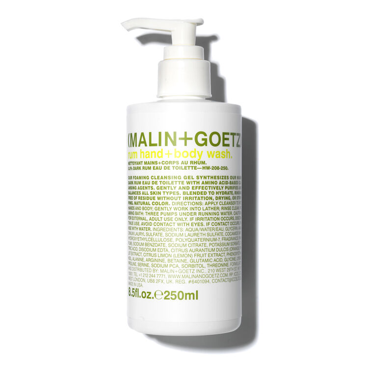 Malin Goetz Rum Hand Wash Pump Space Nk Gbp