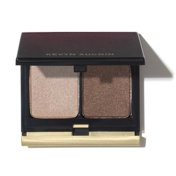 The Eyeshadow Duo,  								210 PEACH/RUST BROWN SHIMMER 							, large