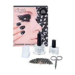 Feathered Manicure - What A Hoot, , large