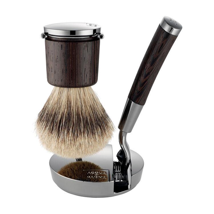 Collezione Barbiere Deluxe Stand (Brush and Razor), , large