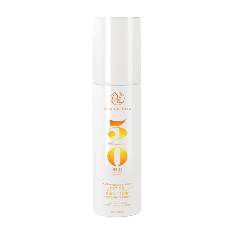 Passionflower & Argan Dry Oil SPF50, , large
