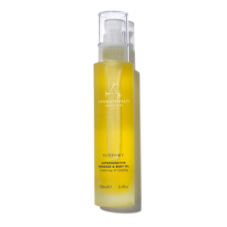 Support Supersensitive Massage and Body Oil 100ml, , large