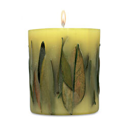 Fruit & Flower Candle Oolong Green Tea Leaves, , large