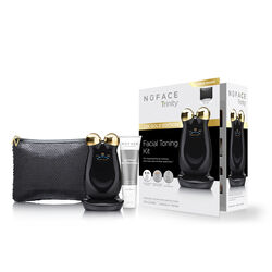 Limited Edition NuFACE Trinity® Facial Toning Kit in Chic Black, , large