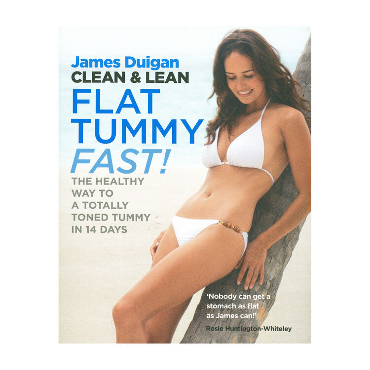 Clean and Lean - Flat Tummy Fast Book, , large