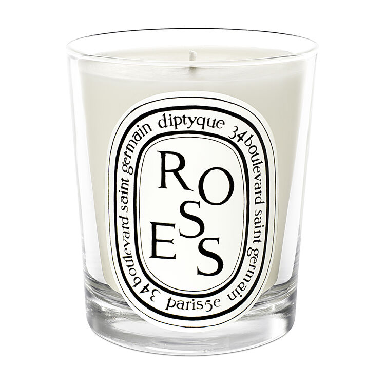 Complimentary Roses Scented Candle 30g, , large