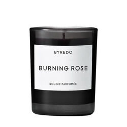 Burning Rose Mini Candle, , large