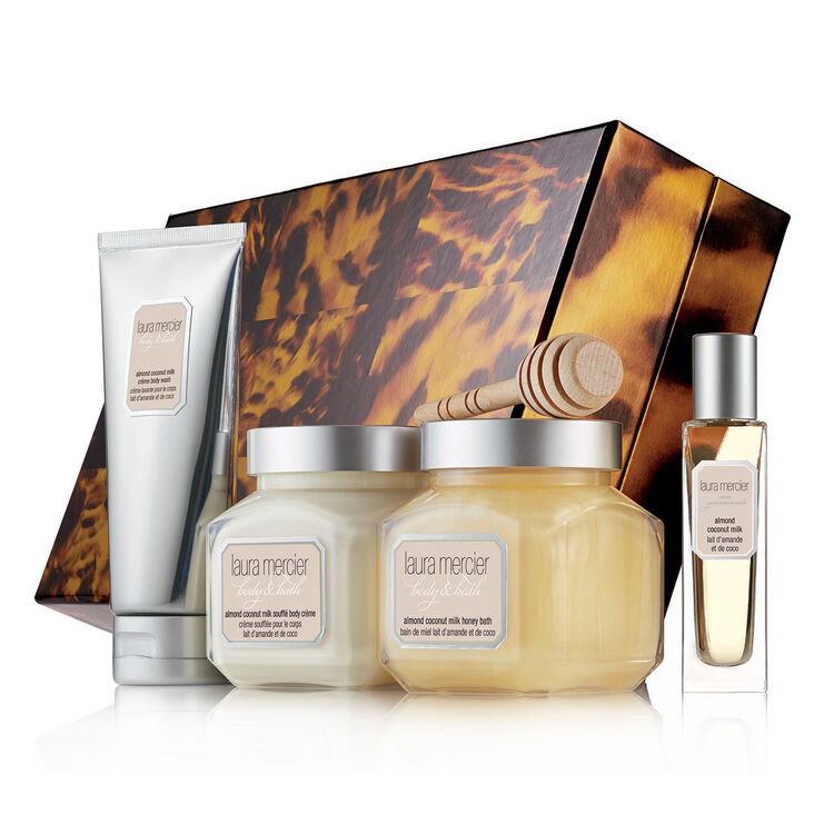 Sweet Temptations Almond Coconut Milk Luxe Body Collection, , large