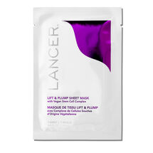 Lift & Plump Sheet Mask with Vegan Stem Cell Complex - 4 Application Packettes, , large