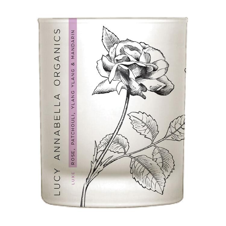 Rose, Patchouli, Ylang Ylang & Mandarin Candle, , large
