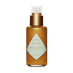 Never Spring Shimmering Body Oil, , large
