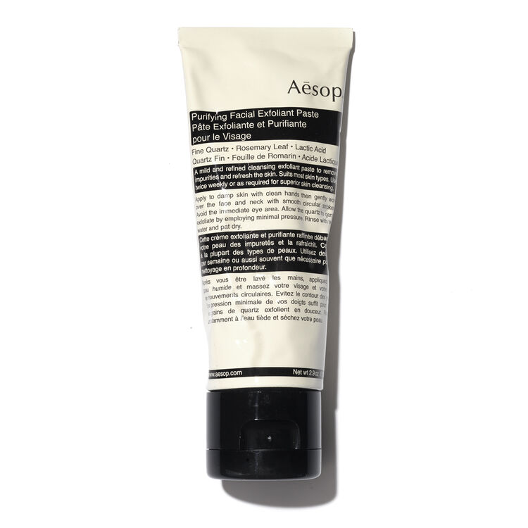 Purifying Facial Exfoliant Paste 75ml, , large