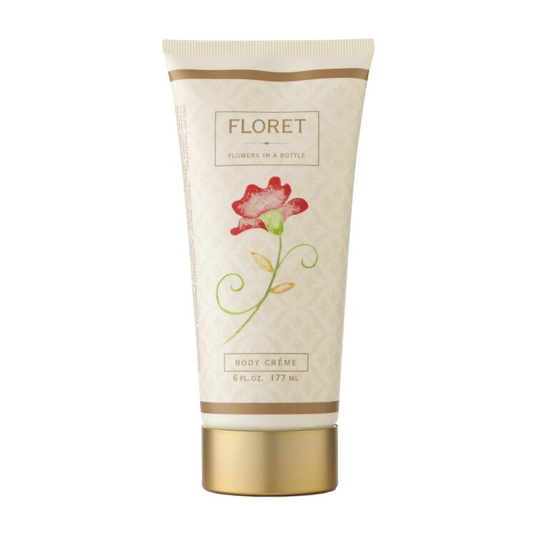 Floret Body Creme 177ml/6oz, , large