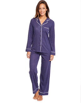 DKNY Perfect Set L/S Top and Pant PJ Set