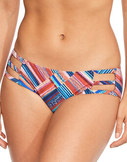 figleaves Cuban Patchwork Strapping Brief