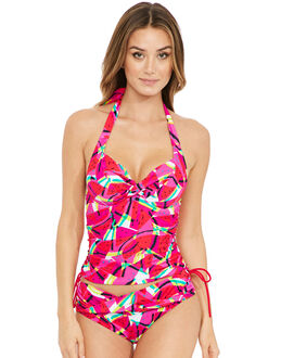 figleaves Bahama Underwired Twist Halter Adjustable Side Tankini Top