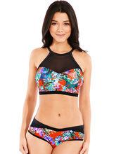 Sunset Beach High Neck Underwired Bikini Top