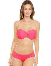 Horizon Underwired Twist Front Bandeau Bikini Top