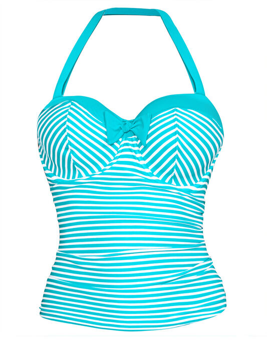 Tootsie Underwired Bandeau Tankini Top