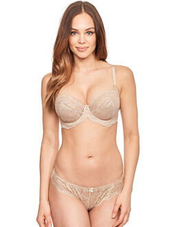 figleaves Lace Non Padded Balconette Bra (DD-G)