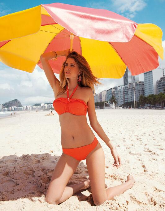 Freya Swim Cherish Pin Spot Underwired Bandeau Bikini Top